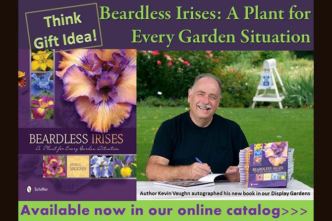 Beardless Irises Book Kevin Vaughn