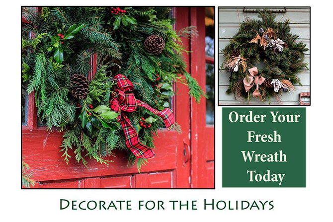Holiday Wreaths 2018