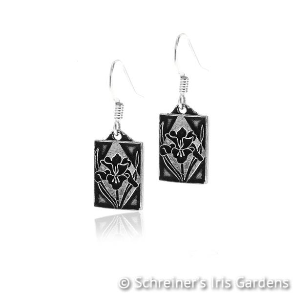 Iris Themed Gifts | Iris Earrings