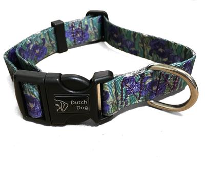 Iris Print Pet Collar Large | Iris Apparel and Accessories