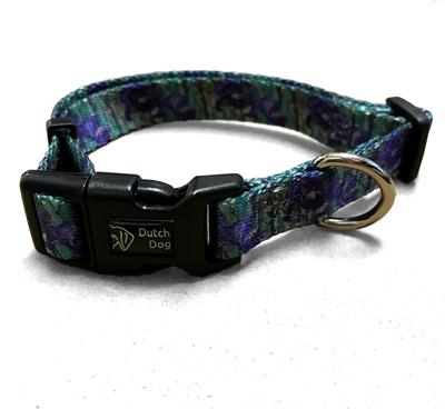 Iris Print Pet Collar Small | Iris Apparel and Accessories