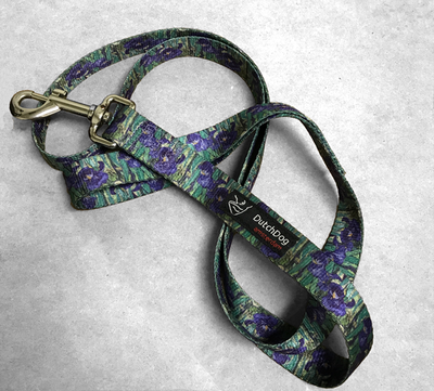 Iris Print Pet Leash | Iris Apparel and Accessories