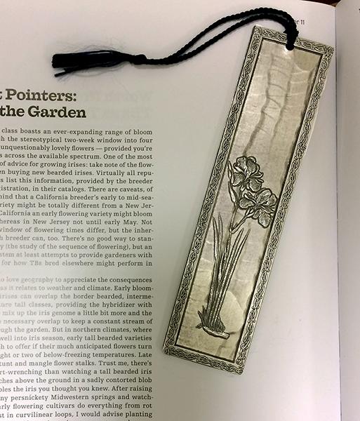 Iris Themed Gifts | Iris Bookmark