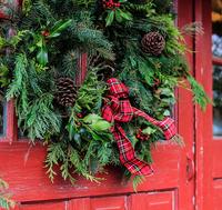 Image Fresh Holiday Wreaths