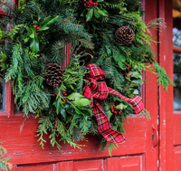 Image Holiday Glow Evergreen Wreath - Two Sizes