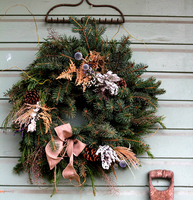 Image Wreath of Honor Evergreen Wreath - Two Sizes