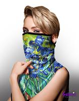 Image Van Gogh Irises Face Mask