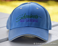 Image Blue Cotton Cap with Embroidered Logo