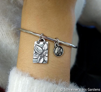 Image Daylily Purity of Heart Bangle by Wendell August