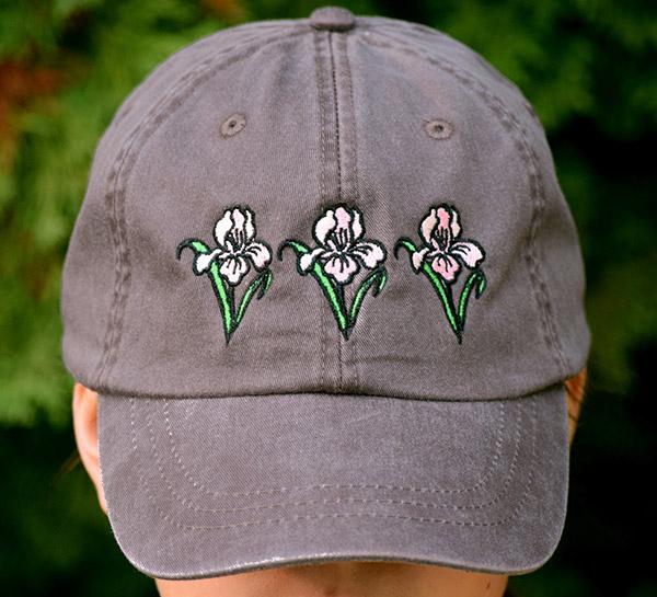 Cocoa Embroidered Cap