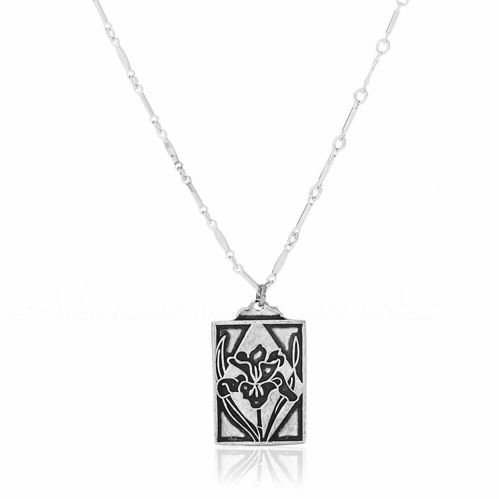 Iris Inspiration Necklace