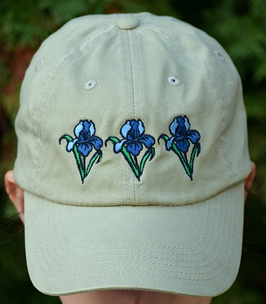 Khaki Embroidered Cap